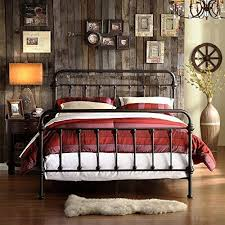 wrought iron headboard full.  Iron Weston Home Nottingham Metal Spindle Bed Intended Wrought Iron Headboard Full K