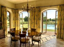 modern dining room curtains. sew cafe curtains - mediterranean dining room by gabriel builders . modern r