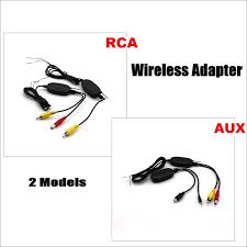 <b>Liislee</b> 2.4G Wireless Receiver and Emitter Adapter For <b>Car Reverse</b> ...