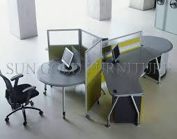 modern office cubicle design. Modern Round Circle Workstation 3 Person Office Cubicle(SZ-WS330) Cubicle Design