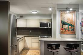 chicago kitchen design. Modern Kitchen Design In Chicago\u0027s Gold Coast Featuring Italian Made Cabinets With Crushed Glass Countertops And Backsplash. Investors Wanted To Update A Chicago