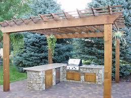 paver patio with pergola. Image By: Picture Perfect Landscapes Designs Paver Patio With Pergola D