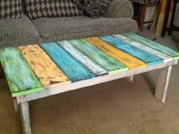 old fence boards made into a coffee table   Wooden crafts ...