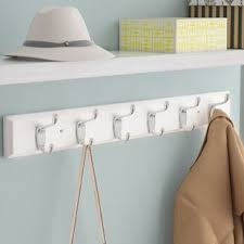 Decorative Wall Mount Coat Rack Decorative Wall Coat Rack Wayfair 81