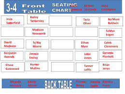 Gracie Theater Seating Chart February 14 2019 What Do You Do For Entertainment Ppt