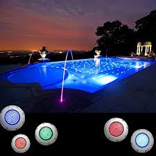 AGPtek NEW Swimming Pool Light Fountains Lamp Spotlights
