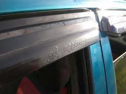 Оригинальные <b>дефлекторы окон</b> — <b>Hyundai</b> Accent, 1.5 л., 1995 ...