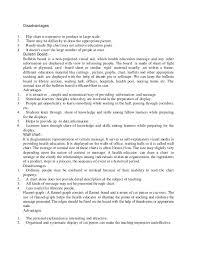 Method And Media Health Education