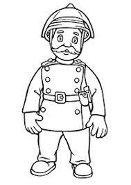 Small Picture Fireman Sam Coloring Pages for Kids