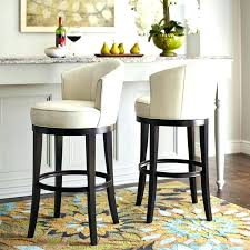 nice wooden swivel bar stools with back 41 round wood full image for isaac ivory stool outdoor high