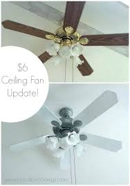 removing ceiling fan removing a ceiling fan paint ceiling fan 6 dollar update without removing remove