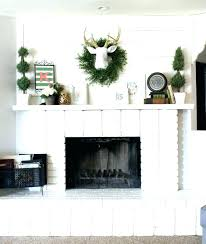decorative fireplace logs white decor planked mantle and brick birch gas wood fake over the deco best of pics decorative fireplace logs faux