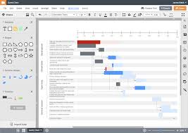 Microsoft Office Gantt Chart Software Online Diagram Software Visual Solution Lucidchart