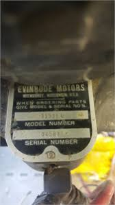 Solved Evinrude Outboard Motor Model Number 35531 Need More