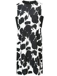 Amazon Com Derek Lam 10 Crosby Sleeveless Shift Dress With
