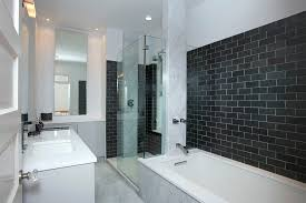 shower walls bathroom contemporary with glass shower wall nickel hardware