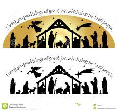 free nativity clipart silhouette. Plain Nativity Nativity Clipart Top Border Christmas Silhouette Eps Download Clip Art Free Throughout Free Clipart Silhouette H