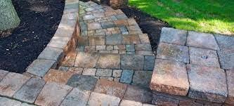 to build paver steps into a hillside