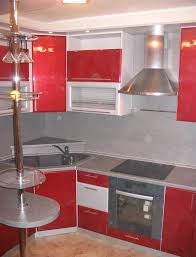 Small Red Kitchen Appliances Excellent Red Kitchen Cabinets With White Appliances Glass Used