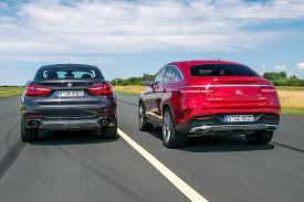 BMW Convertible bmw 350 coupe : First comparison Mercedes GLE Coupe vs BMW X6 by Auto Bild ...