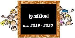 Risultati immagini per ISCRIZIONI 2019-2020