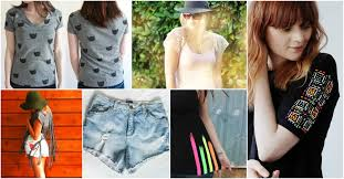 brilliant diy fashion ideas to upgrade your old clothes for the summer