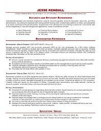 Bookkeeping Resume Examples Bookkeeping Resume Example Bookkeeper Resume Sample Resumeliftcom 5