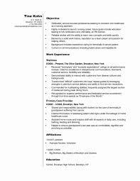 Luxury Nursing Assistant Resume Sample Inspirational Lpn Resume