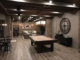 Finished Basement Designs Classy Unfinished Basement Finished Basement Ideas Basement Decor