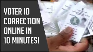 voter id correction how to make
