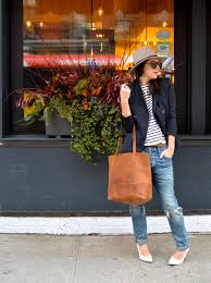 my style pill blogger jeans tote bag leather bag blazer sunglasses hat jacket shirt shoes bag