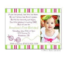 1st birthday invitation message ide wording sles in tamil template 1st birthday invitation