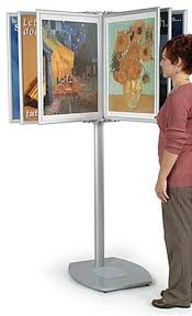 Multiple Poster Display Stands