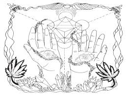 New Free Stoner Coloring Pages Adult Sheets Printable Stunning