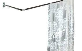do shower curtain or glass door sliding