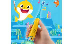 🥇 ▷ BriteBrush là bàn chải đánh răng thông minh dành cho trẻ em chơi bài  hát Baby Shark » ✓