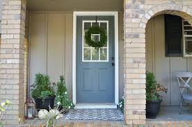 front door colorDont Disturb This Groove A New Front Door Color