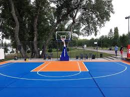 diy outdoor basketball court lighting standards levels backyard ideas stencils layouts dimensions inside home layout