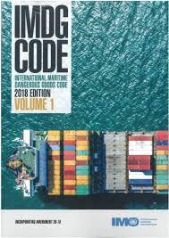 Imdg Code 2018 Edition Incorporating Amendment 39 18