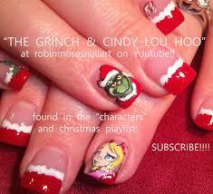 Robin Moses Nail Art: christmas nails, christmas nail art, cute ...