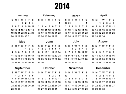 We have all the free calendars you need! 2014 Calendar Template Free Stock Photo Public Domain Pictures