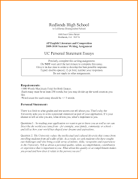 personal statement examples for uc attorney letterheads related for 9 personal statement examples for uc