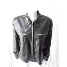 targa leather jacket size xl targa size xl black