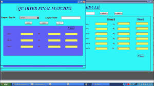 League Schedule Maker Excel Football League Scheduling Java Project Youtube