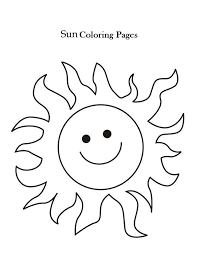 Small Picture Printable Sun Coloring Pages Coloring Me