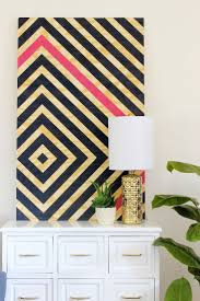 Diy Wall Decor Best 25 Painters Tape Art Ideas Only On Pinterest Summer Arts