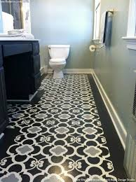 10 stenciled floor makeovers and diy ideas made for walkinu0027 stencils by royal black white floor stencils 119 stencils