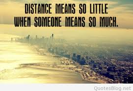 Distance love quotes Interesting Distance Quote