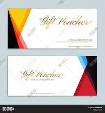 gift card formats gift certificate vector photo free trial bigstock