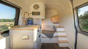 Tiny House Expertise Put To Use In Mercedes Sprinter Campervan Adorable Van Interior Design Interior